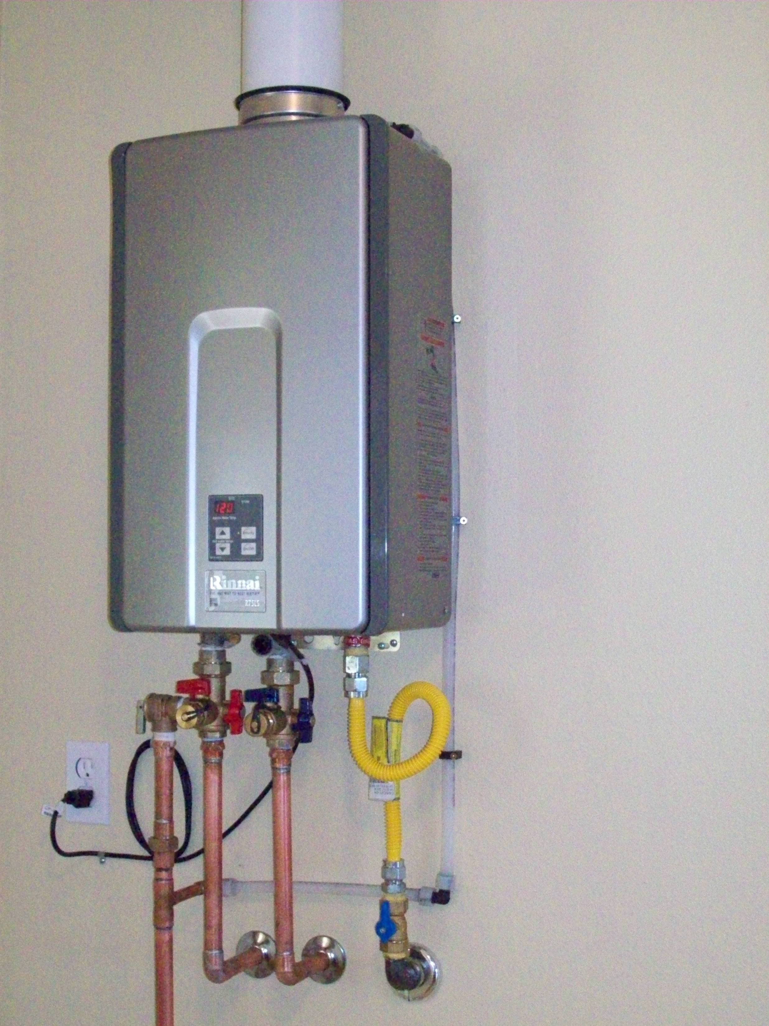Tankless Water Heaters Installation Photo S Of Tankless
